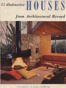 82 Distinctive Houses from Architectural Record book