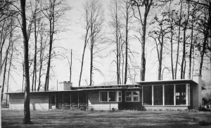 44 Parker Drive in the early 1950's