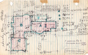 Hershey House Drawing Detailed