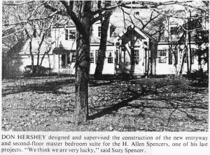 H. Allen and Suzy Spencer Home on Allens Creek Road