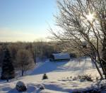 551 Morgan Road In winter