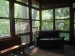 115 Huntington Hills South Overhang Back View Out Front Door Sun Room Inside