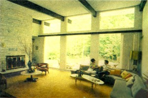 Alfred and Elaine Spagg in their Hershey-designed home