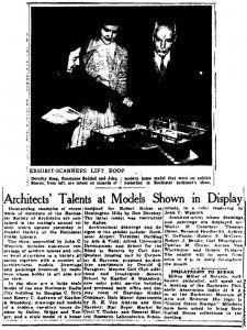 Hershey Creates Model House for Robert Kahse in Huntington Hills, Irondequoit, NY.