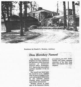 Don Hershey Named