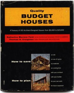 Quality Budget Homes book cover