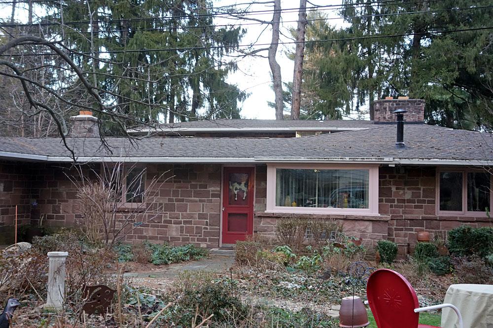 Front Door of 835 Allens Creek Rd