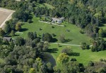 551 Morgan Road Orchard Hill from an airplane