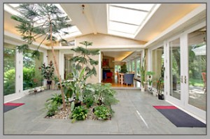 17 Stoney Clover Lane atrium