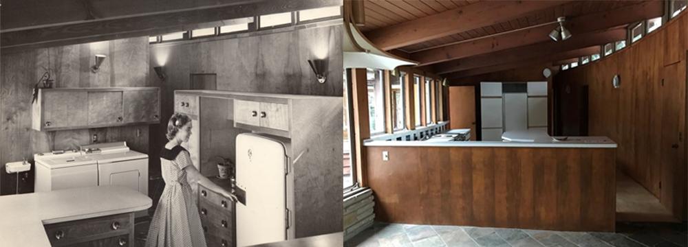 174 Golf Avenue kitchen evolution