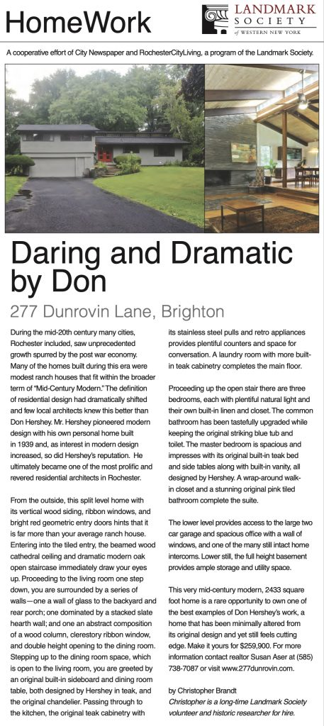 277 Dunrovin City article by Chris Brandt